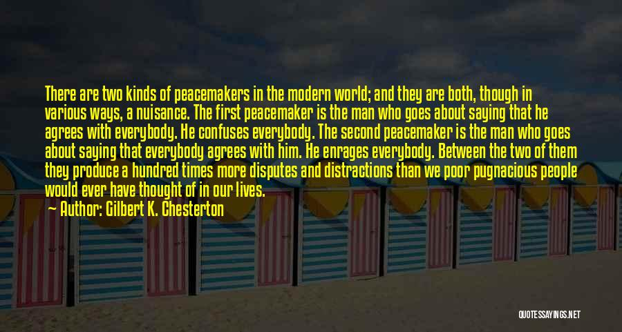 Confuses Quotes By Gilbert K. Chesterton