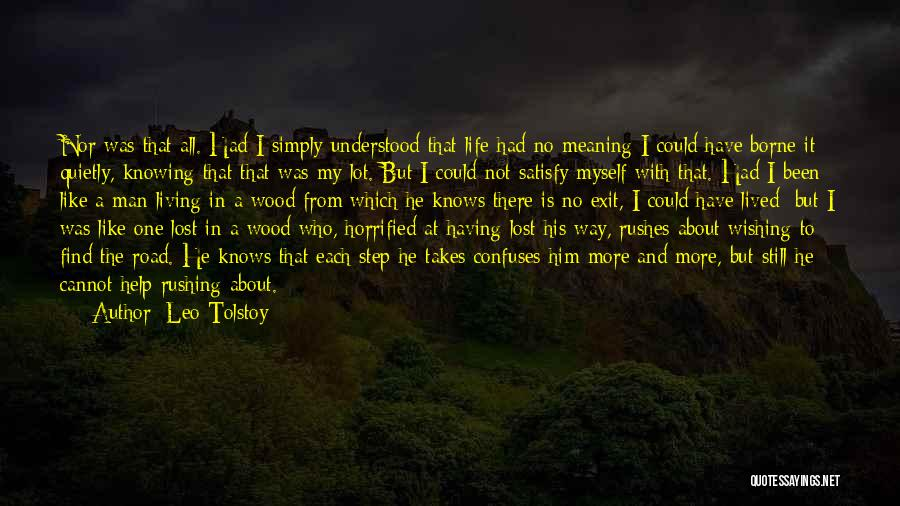 Confuses Quotes By Leo Tolstoy