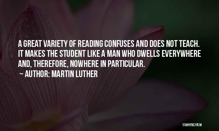 Confuses Quotes By Martin Luther