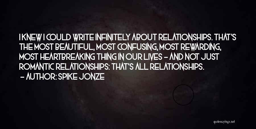 Confusing Relationships Quotes By Spike Jonze