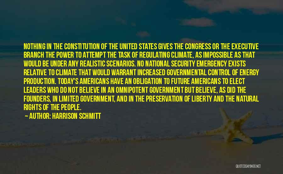 Congress Today Quotes By Harrison Schmitt