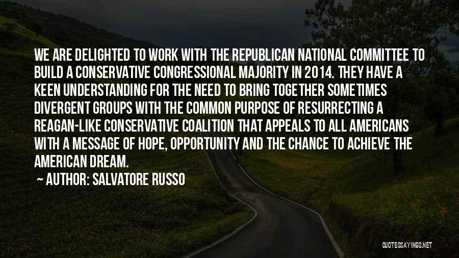 Congressional Committee Quotes By Salvatore Russo