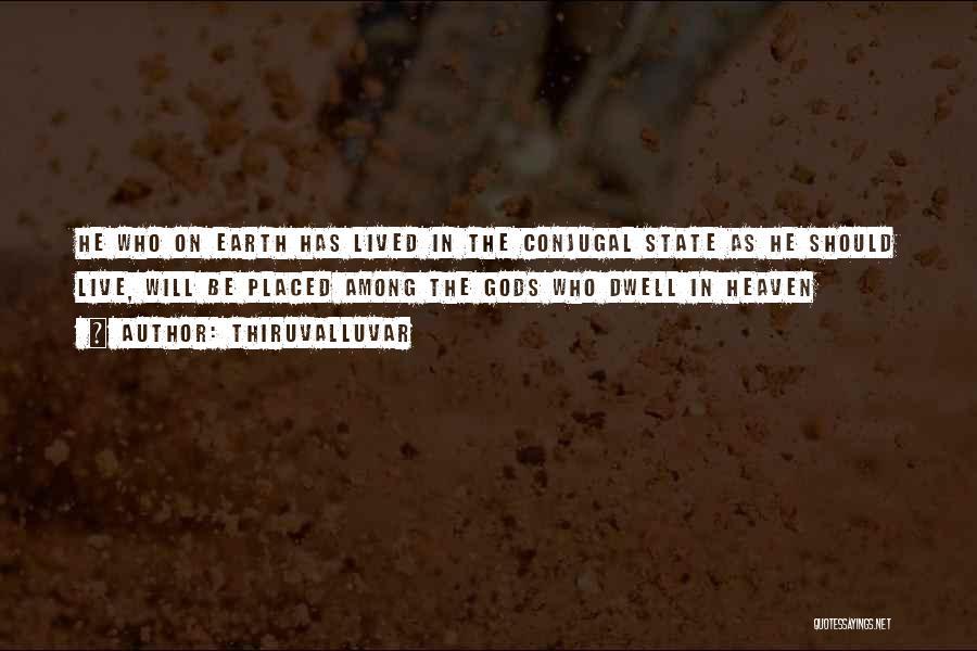 Conjugal Love Quotes By Thiruvalluvar