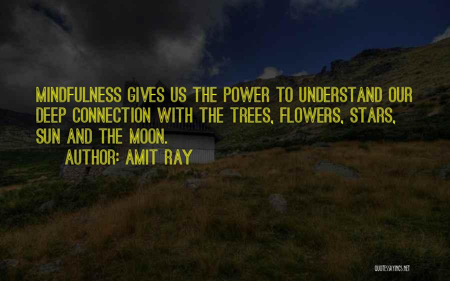 Connection To Earth Quotes By Amit Ray