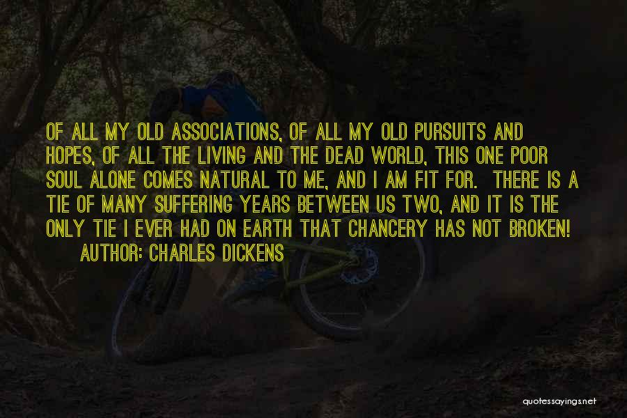 Connection To Earth Quotes By Charles Dickens