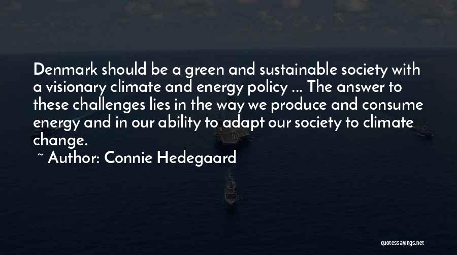 Connie Hedegaard Quotes 177735