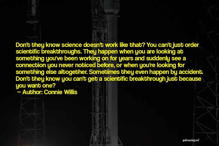 Connie Willis Quotes 86505