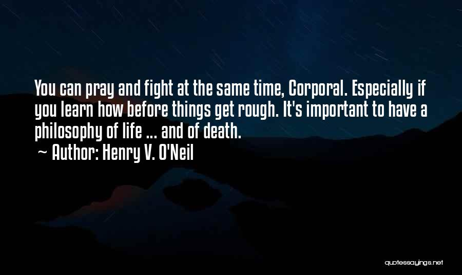 Conscientious Quotes By Henry V. O'Neil