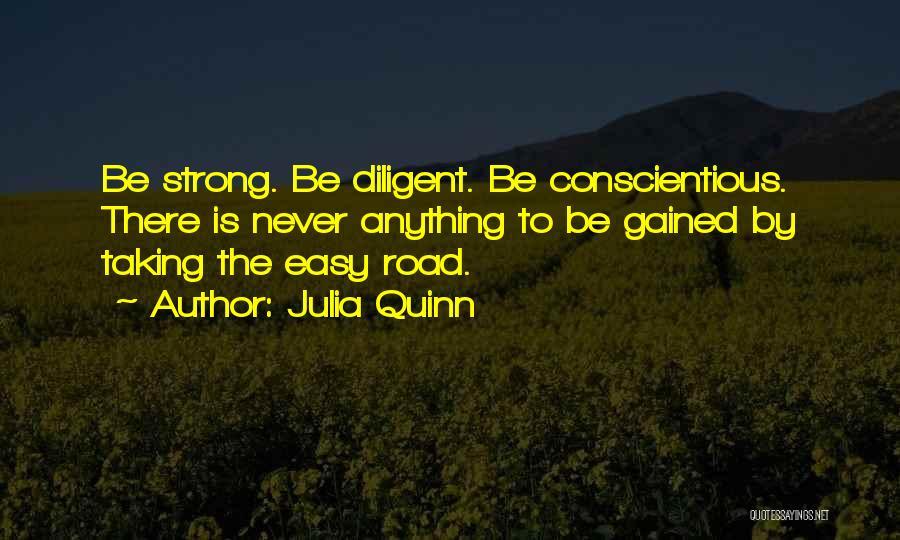 Conscientious Quotes By Julia Quinn