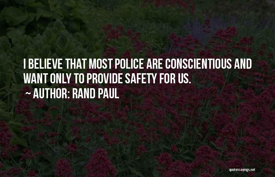Conscientious Quotes By Rand Paul