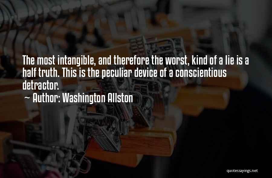 Conscientious Quotes By Washington Allston