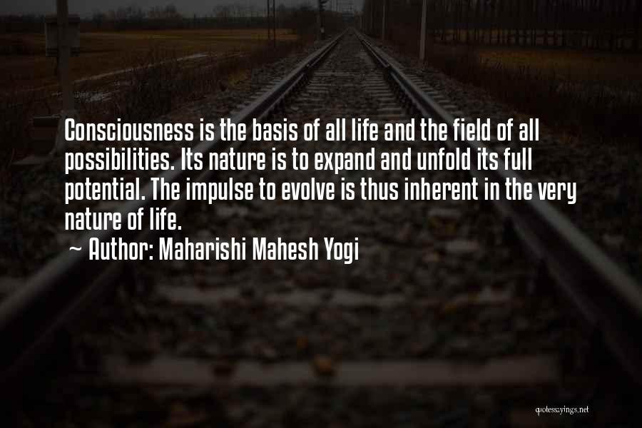 Consciousness Expanding Quotes By Maharishi Mahesh Yogi