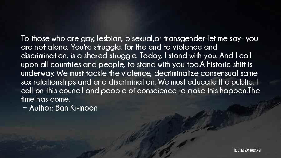 Consensual Quotes By Ban Ki-moon