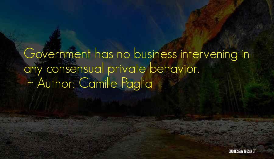 Consensual Quotes By Camille Paglia