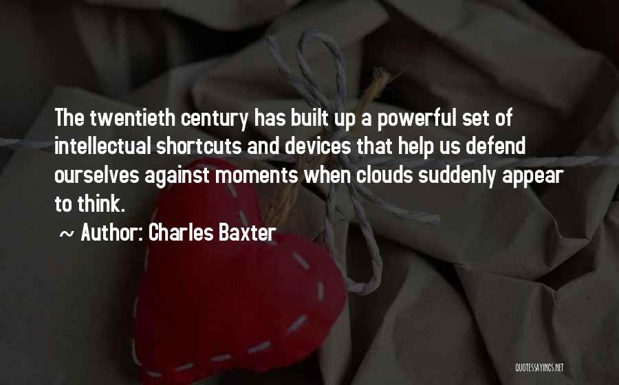 Consensual Quotes By Charles Baxter