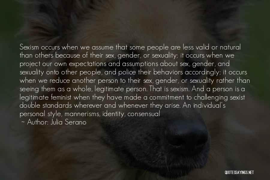 Consensual Quotes By Julia Serano