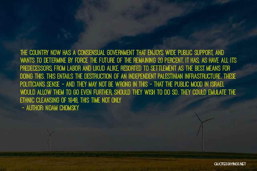 Consensual Quotes By Noam Chomsky