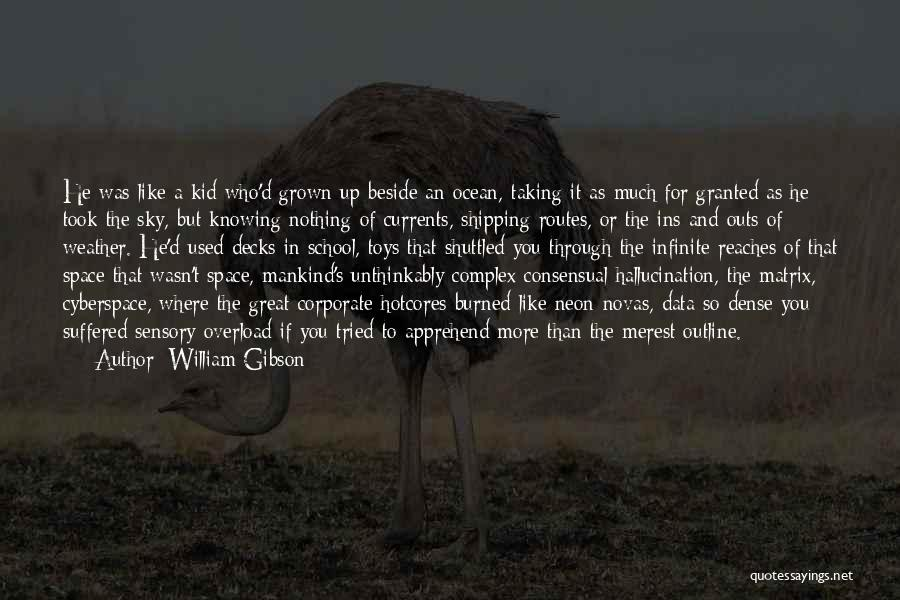 Consensual Quotes By William Gibson