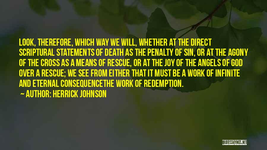 Consequence Of Sin Quotes By Herrick Johnson