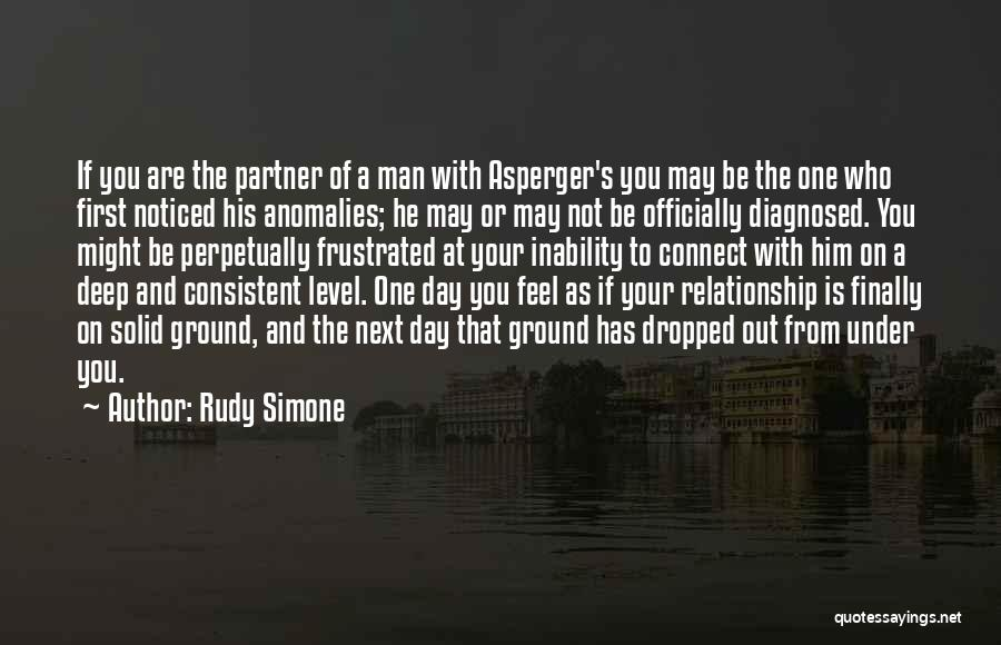 Consistent Relationship Quotes By Rudy Simone