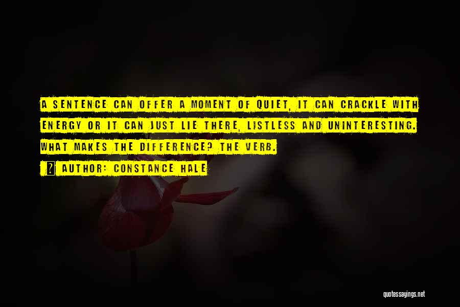 Constance Hale Quotes 1063671