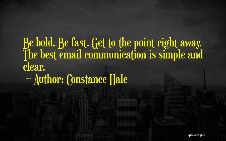Constance Hale Quotes 1720645