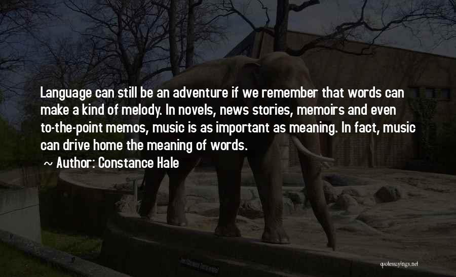 Constance Hale Quotes 1913966