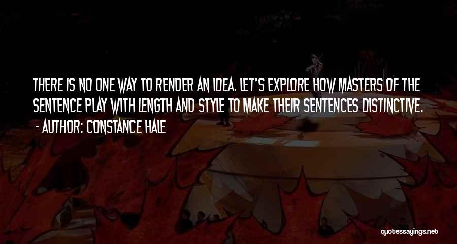 Constance Hale Quotes 2091104