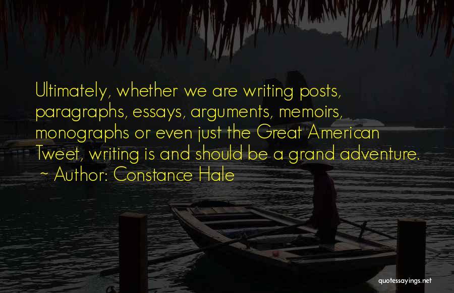 Constance Hale Quotes 530587