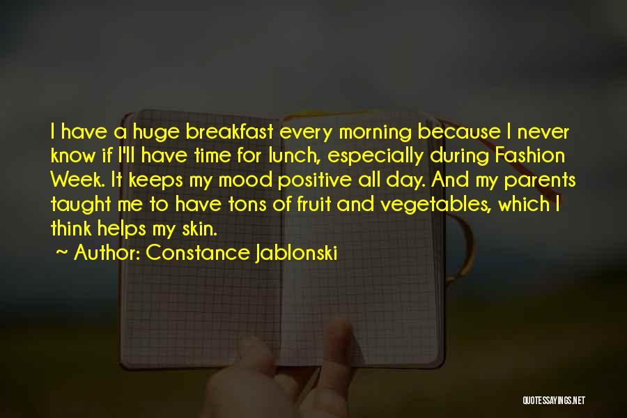 Constance Jablonski Quotes 1500900