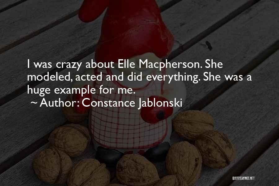 Constance Jablonski Quotes 1950241