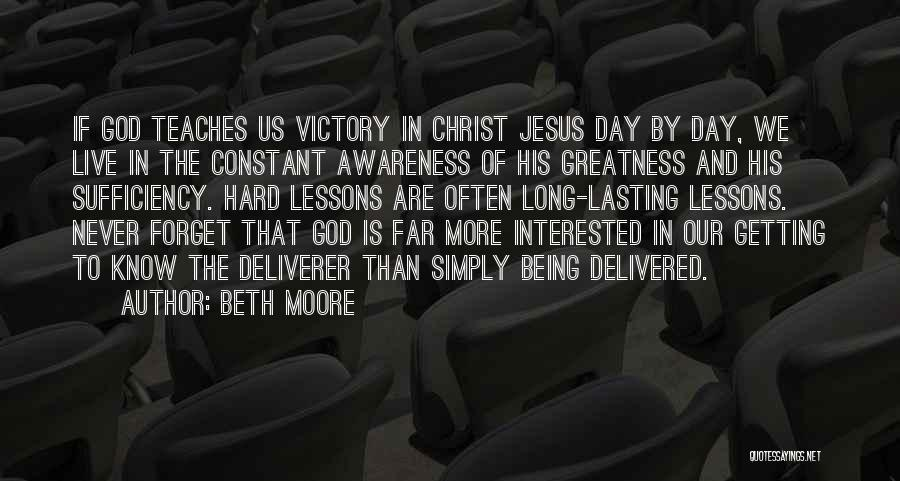 Constant Prayer Quotes By Beth Moore