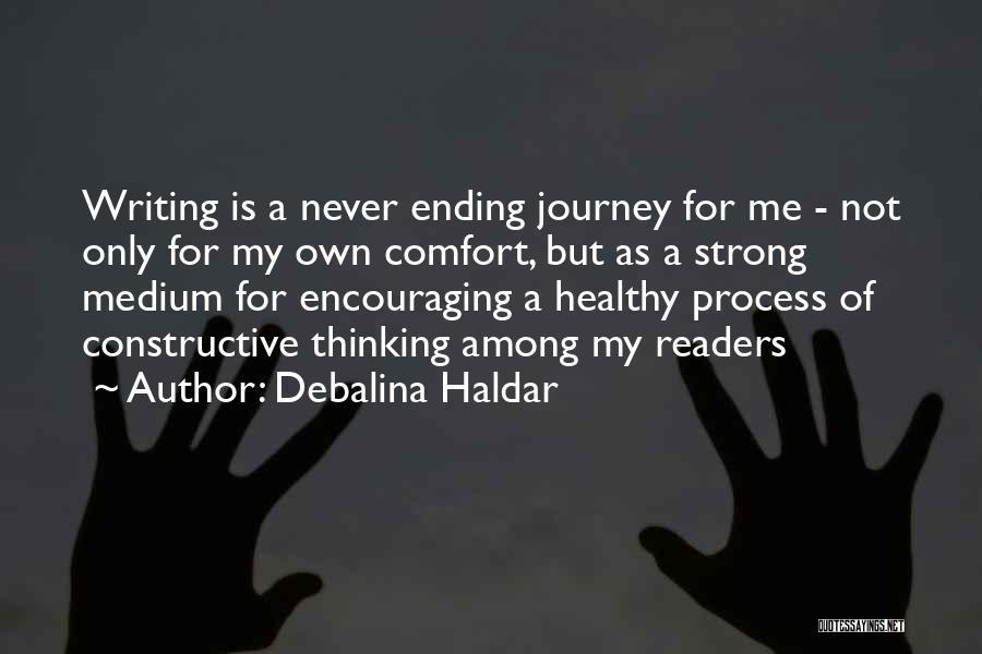 Constructive Criticism Quotes By Debalina Haldar