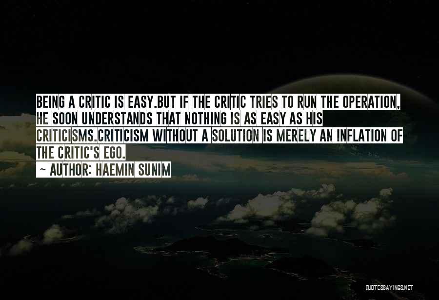 Constructive Criticism Quotes By Haemin Sunim