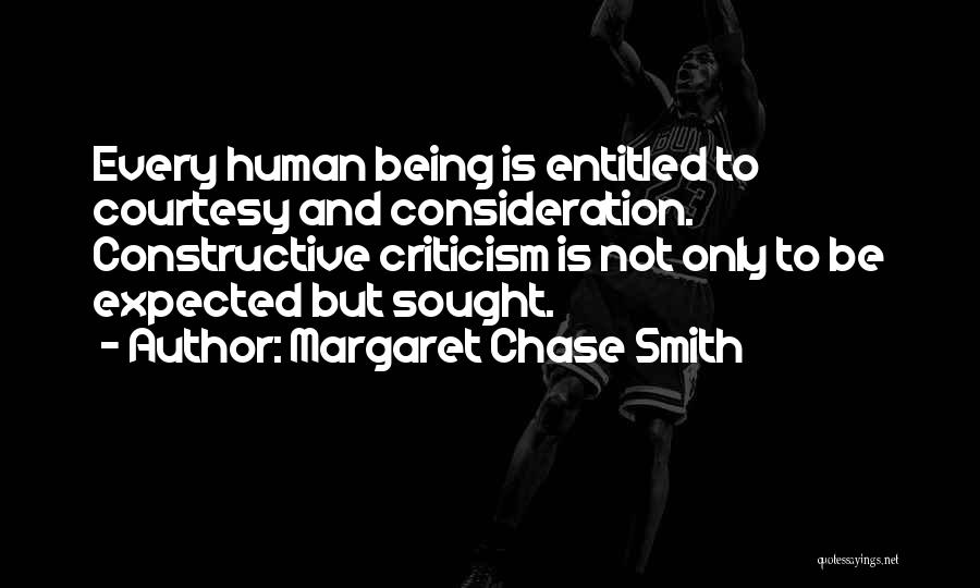 Constructive Criticism Quotes By Margaret Chase Smith