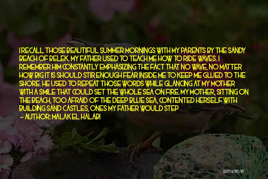 Contented Mother Quotes By Malak El Halabi
