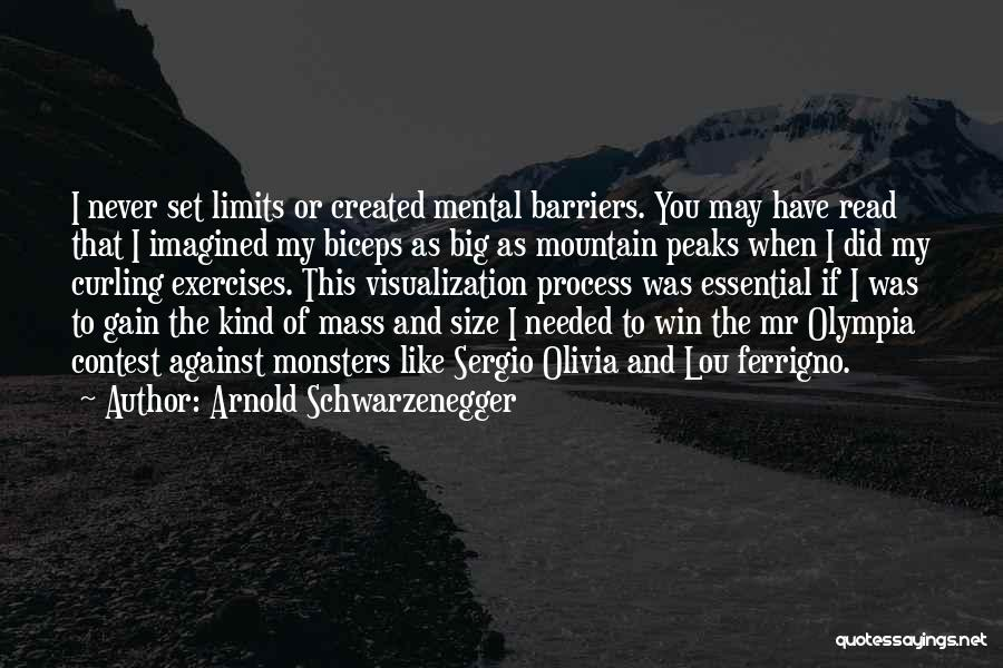 Contest Win Quotes By Arnold Schwarzenegger
