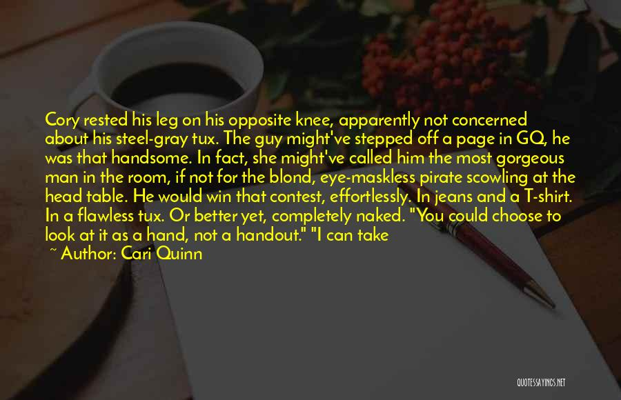 Contest Win Quotes By Cari Quinn