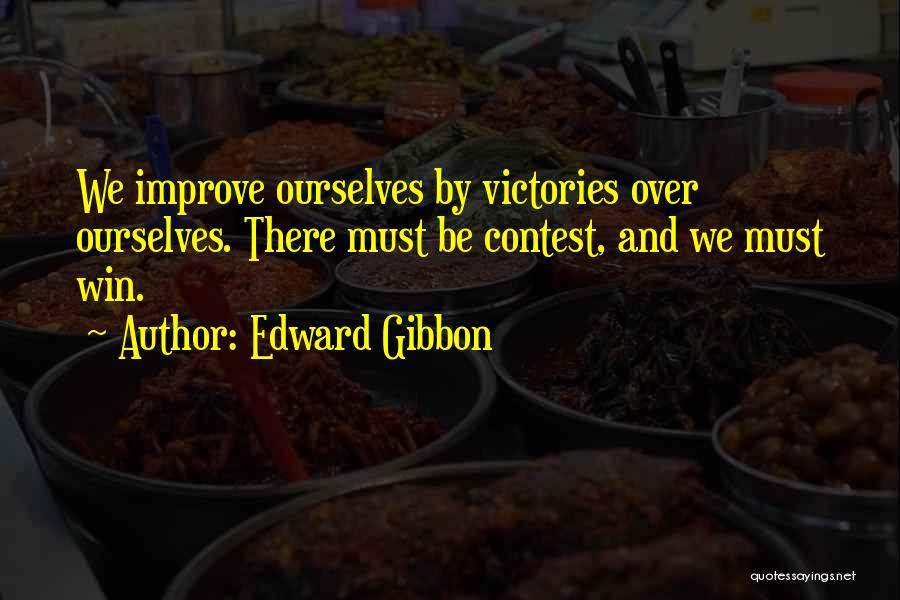 Contest Win Quotes By Edward Gibbon