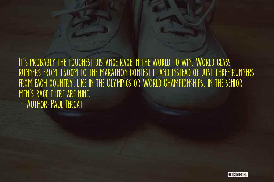 Contest Win Quotes By Paul Tergat