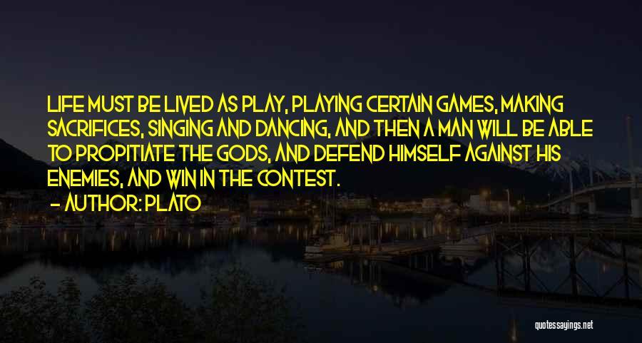 Contest Win Quotes By Plato