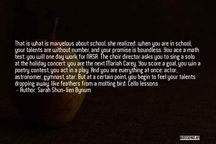Contest Win Quotes By Sarah Shun-lien Bynum