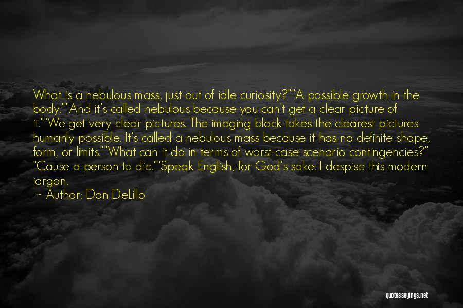 Contingencies Quotes By Don DeLillo
