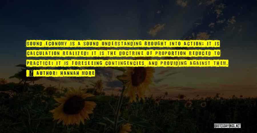Contingencies Quotes By Hannah More
