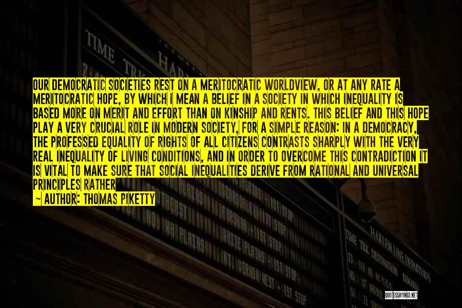 Contingencies Quotes By Thomas Piketty