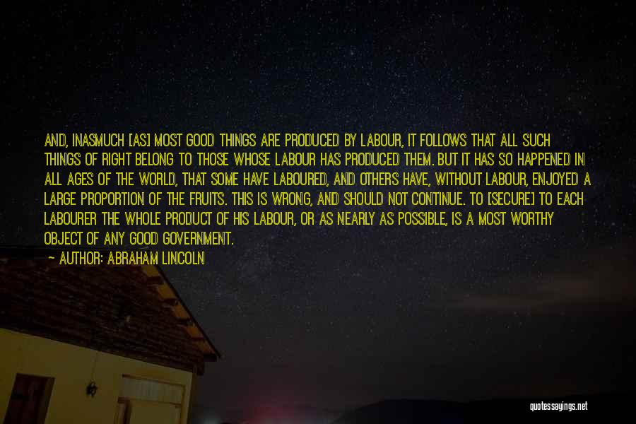 Continue Good Work Quotes By Abraham Lincoln
