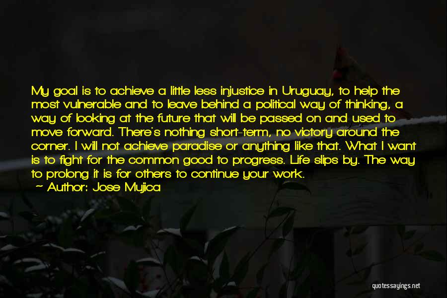 Continue Good Work Quotes By Jose Mujica