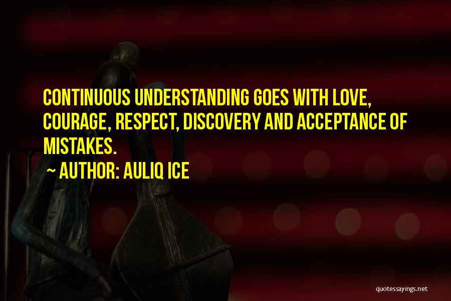 Continuous Improvement Quotes By Auliq Ice