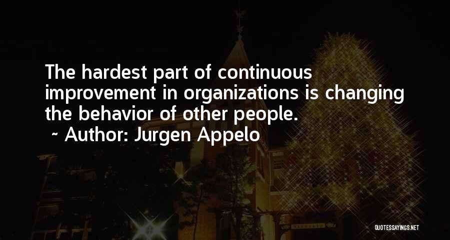 Continuous Improvement Quotes By Jurgen Appelo