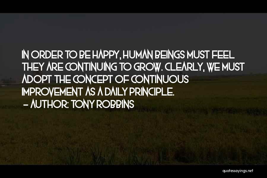Continuous Improvement Quotes By Tony Robbins